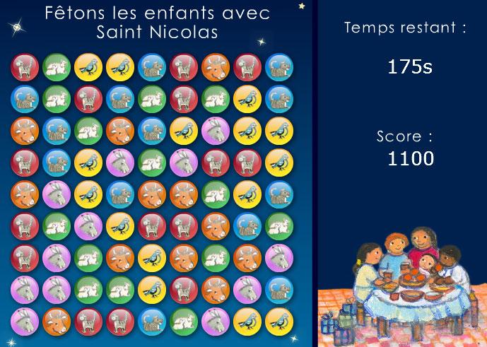 screenshot jeux calendrier avent 2010