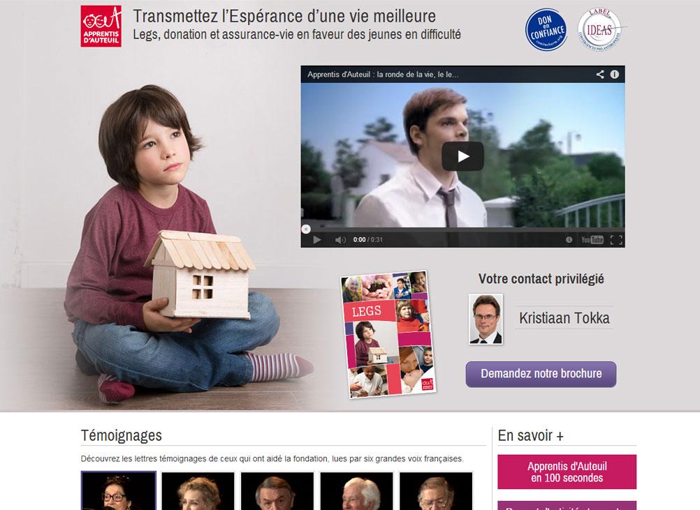 screenshot thème blog