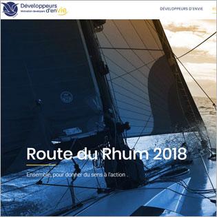 Miniature site route du rhum 2018 - ManOrga